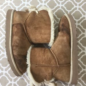 UGG Selene Rope Bailey Bow Boots